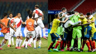 How to Watch Colombia vs Peru, Copa America 2021 Live Streaming Online in India? Get Free Live Telecast Of South American Championship Match Score Updates on TV