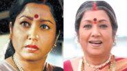 Veteran Kannada Actress Abhinaya Sharade Jayanthi Dies at 76