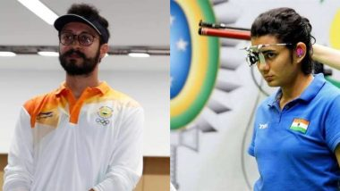 Yashaswini Deswal and Abhishek Verma at Tokyo Olympics 2020, Shooting Live Streaming Online: Know TV Channel & Telecast Details of 10m Air Pistol Mixed Team Qualification Stage 1