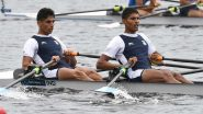 Arvind Singh and Arjun Lal Jat Secure Fifth Place Finish in Lightweight Double Sculls Final B in Rowing at Tokyo Olympics 2020
