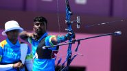 Pravin Jadhav at Tokyo Olympics 2020, Archery Live Streaming Online: Know TV Channel & Telecast Details for Men's Individual 1/32 Eliminations Coverage