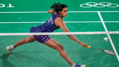 PV Sindhu Defeats Denmark's Mia Blichfeldt To Enter Women's Singles Badminton Quarter-Finals in Tokyo Olympics 2020