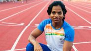 Dutee Chand at Tokyo Olympics 2020, Athletics Live Streaming Online: Know TV Channel & Telecast Details for Women's 100m Round 1-Heat 1, 2 & 3 Race Coverage