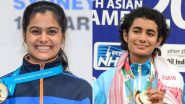Manu Bhaker and Yashaswini Deswal at Tokyo Olympics 2020, Shooting Live Streaming Online: Know TV Channel & Telecast Details for 10M Air Pistol Women's Qualification Coverage