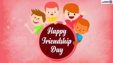 Friendship Day 2021 Images & HD Wallpapers for Free Download Online: Wish Happy International Friendship Day With WhatsApp Stickers, Greetings and Quotes