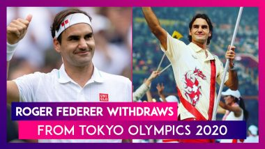 Tokyo Olympics 2020: Roger Federer Withdraws Due to Knee Problems, Says 'I Am Greatly Disappointed'