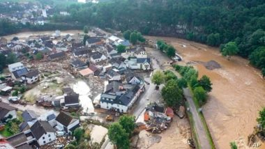 Germany Floods: 6 Dead, 30 Missing as Houses Collapse Due to Heavy Flooding