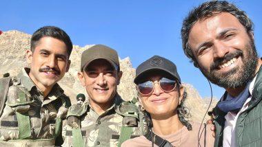 Laal Singh Chaddha: Naga Chaitanya Starts Filming With Aamir Khan And Kiran Rao; Shares A BTS Picture