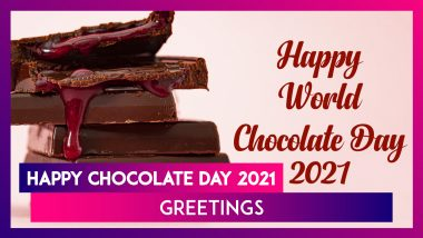 Happy Chocolate Day 2021 Greetings: WhatsApp Messages, Wishes, HD Images and Quotes for Him And Her