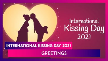 Happy Kissing Day 2021 Messages for Her: WhatsApp Greetings, Passionate Kiss Quotes & Romantic Pics