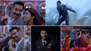 Bhuj - The Pride of India Song Hanjugam: Ajay Devgn and Pranitha Subhash Are Totally in Love in This Melody by Jubin Nautiyal (Watch Video)