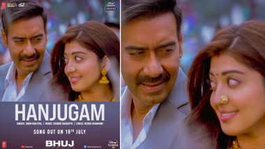 Hanjugam From Bhuj: The Pride of India: Ajay Devgn, Pranitha Subhash's Love Anthem To Be Out on July 19