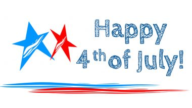 Best Fourth of July 2021 Wishes for Clients & Employees: WhatsApp Stickers, GIF Greetings, Facebook Quotes and Telegram Messages to Commemorate US Independence Day