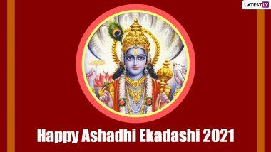 Ashadhi Ekadashi 2021: Warkaris Carrying 'Padukas' of Sant Dnyaneshwar Leave From Pune for Pandharpur Temple