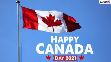 Happy Canada Day 2021 Images & HD Wallpapers For Free Download Online: Wish on National Day of Canada With WhatsApp Greetings, Facebook Quotes and Messages
