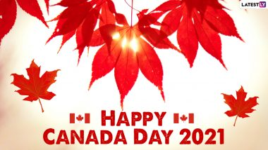 Canada Day 2021 Images & HD Wallpapers for Free Download Online: Wish Happy Canada Day With WhatsApp Messages and Facebook Greetings