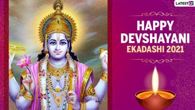 Devshayani Ekadashi 2021 HD Images & Ashadhi Ekadashi Wallpapers for Free Download Online: WhatsApp Messages, Greetings, Quotes, SMS and Photos for Family & Friends