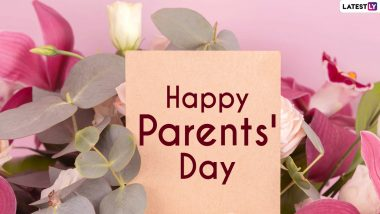 National Parents' Day 2021 Greetings and Quotes: WhatsApp Messages, HD Images and Wallpapers, GIFs, SMS and Messages To Wish Your Parents