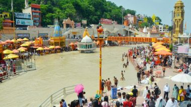Kanwar Yatra 2021: Uttarakhand Govt Allows States To Take 'Ganga Jal' From Haridwar in Tankers