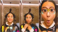 Hina Khan Nails Viral 'Hello My Name Is Zuzie' Trend, Shares Cute Instagram Reel