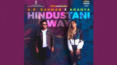 AR Rahman Celebrates Indian Sportsmanship at the Tokyo Olympics the 'Hindustani Way', Shares a Glimpse of His Song With Ananya Birla