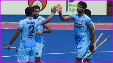 India Beat Spain 3-0 in Men's Hockey at Tokyo Olympic Games 2020 Pool A Match