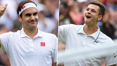 Roger Federer vs Hubert Hurkacz, Wimbledon 2021 Live Streaming Online: How to Watch Free Live Telecast of Men's Singles Quarterfinal Tennis Match in India?