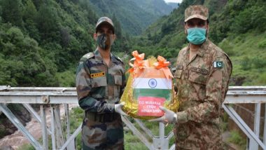 India News | Eid-ul-Adha: BSF, Pak Rangers Exchange Sweets for First Time Since Article 370 Abrogation