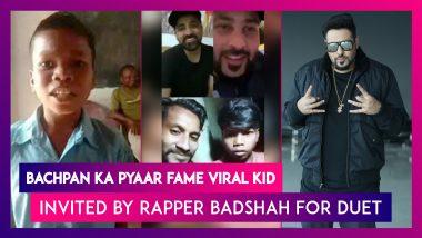 Bachpan Ka Pyaar Fame Viral Kid Sahdev Dirdo From Sukma, Chhattisgarh Invited By Rapper Badshah For Duet, Chhattisgarh CM Wishes Him Good Luck