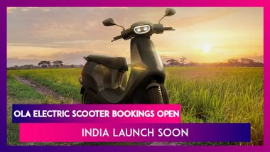 Ola Electric Scooter Bookings Now Open in India, Check Expected Launch, Price, Features & Specs