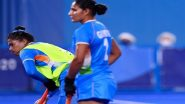 India Beat Ireland 1–0 in Penultimate Women's Group Stage Match at Tokyo Olympics 2020