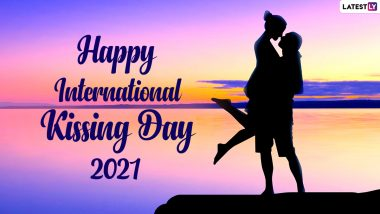 International Kissing Day 2021 Images & HD Wallpapers for Free Download Online: Wish Happy Kissing Day With Quotes, WhatsApp Messages and GIF Greetings