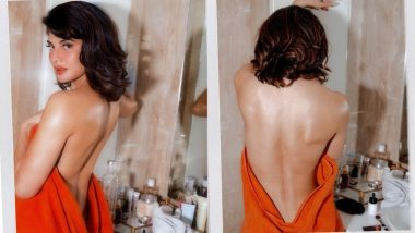 Jacqueline Fernandez Goes Bold, Flaunts Sexy Bare Back Photos With a Strong Message on Instagram