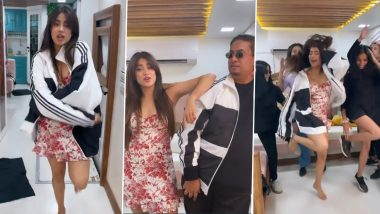 Janhvi Kapoor Is Back With Her Aksa Gang, Dances to Superhit 'Naaka Mukka' Song (Watch Video)