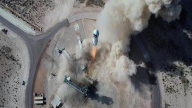 Jeff Bezos, Blue Origin Crew Successfully Completes Spaceflight on New Shepard