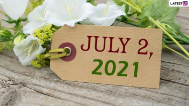 July 2, 2021: Which Day Is Today? Know Holidays, Festivals and Events Falling on Today's Calendar Date