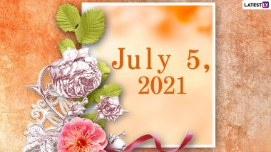 July 5, 2021: Which Day Is Today? Know Holidays, Festivals and Events Falling on Today's Calendar Date