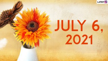 July 6, 2021: Which Day Is Today? Know Holidays, Festivals and Events Falling on Today's Calendar Date
