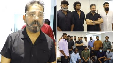 Kamal Haasan's First-Day Shooting Experience for 'Vikram' Was Like a 'High School Reunion' (Watch Video)