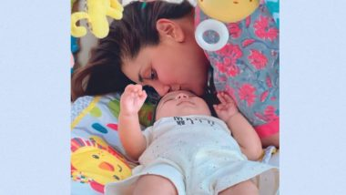 Kareena Kapoor Khan Kissing Her Son Jeh Is the Cutest Pic You Will See on the Internet
