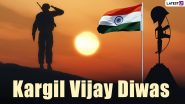 Kargil Vijay Diwas 2021 Images & HD Wallpapers for Free Download Online: Remembering Brave Heroes of Operation Vijay With WhatsApp Messages and Patriotic Quotes