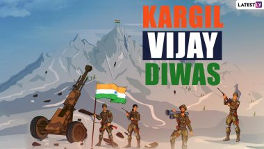 Kargil Vijay Diwas 2021 Quotes & Messages: Remembering Heroes of Operation Vijay With These Patriotic Thoughts, Images and HD Wallpapers on July 26