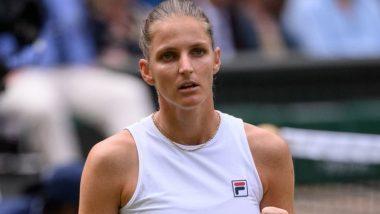 Wimbledon 2021 Final: Karolina Pliskova Defeats Aryna Sabalenka, Sets Up Summit Clash Against Ashleigh Barty