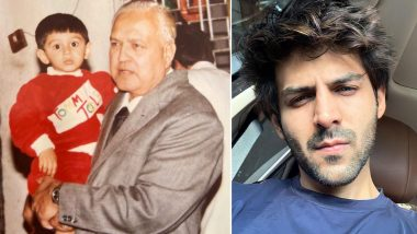 Kartik Aaryan's 'Naanu' Passes Away; Actor Mourns the Demise of His Grandfather With a Throwback Picture