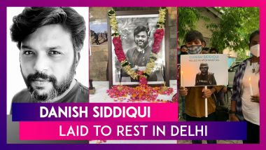Danish Siddiqui, Pulitzer Prize Winning Reuters' Photojournalist, Laid To Rest In Delhi, After Being Killed In Afghanistan