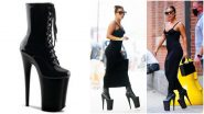 Lady Gaga Walking in 9-Inch Platform Heels on New York City Streets Is Different Level of Confidence (View Photos)