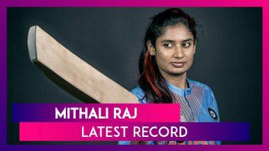 Mithali Raj Becomes Leading Run-Scorer in Women's Cricket