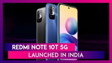 Redmi Note 10T 5G Launched In India Starting At Rs 13,999
