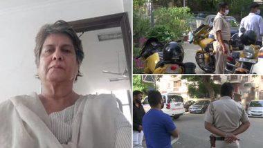Kitty Kumaramangalam, Wife of Late Union Minister P Rangarajan Kumaramangalam Found Murdered in Delhi's Vasant Vihar; Two Suspects Arrested