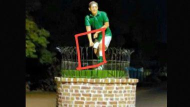Hockey Stick and Ball Stolen AGAIN From Pakistan Legend Samiullah Khan's Statue